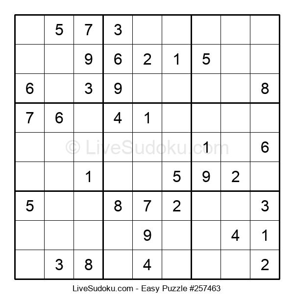 Beginners Puzzle #257463