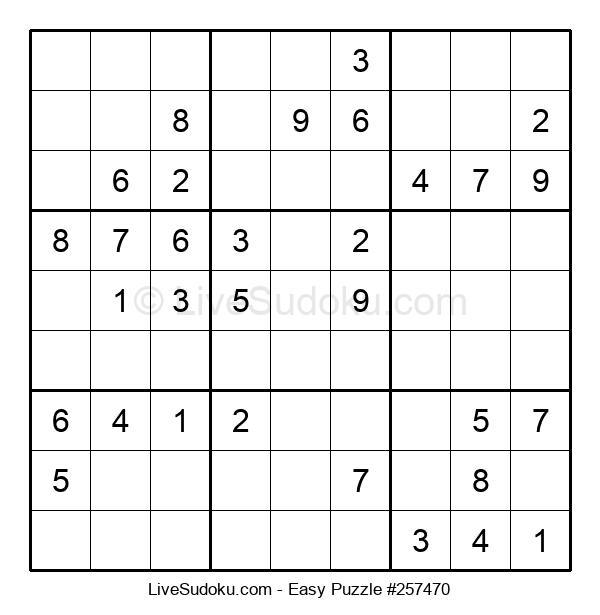 Beginners Puzzle #257470