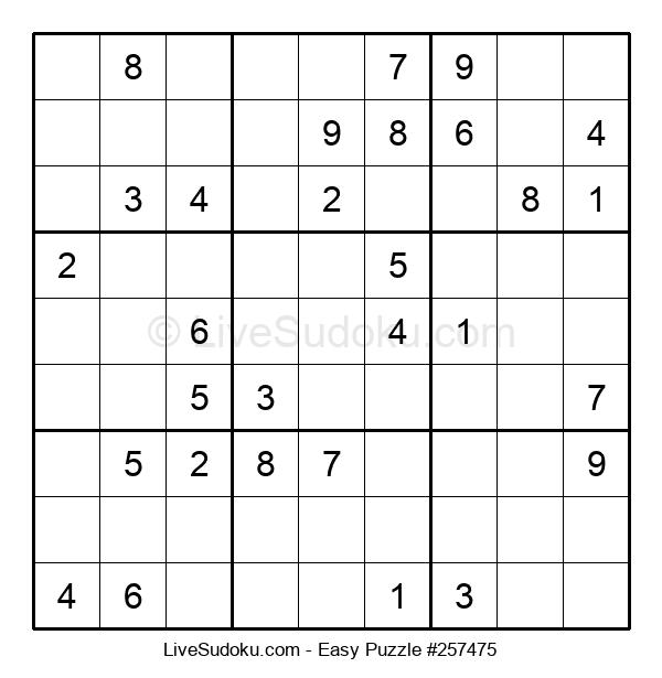 Beginners Puzzle #257475
