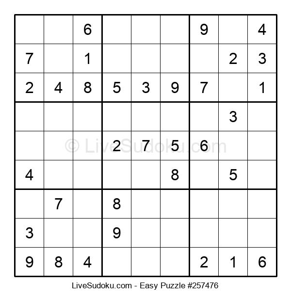 Beginners Puzzle #257476