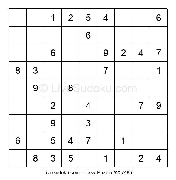 Beginners Puzzle #257485