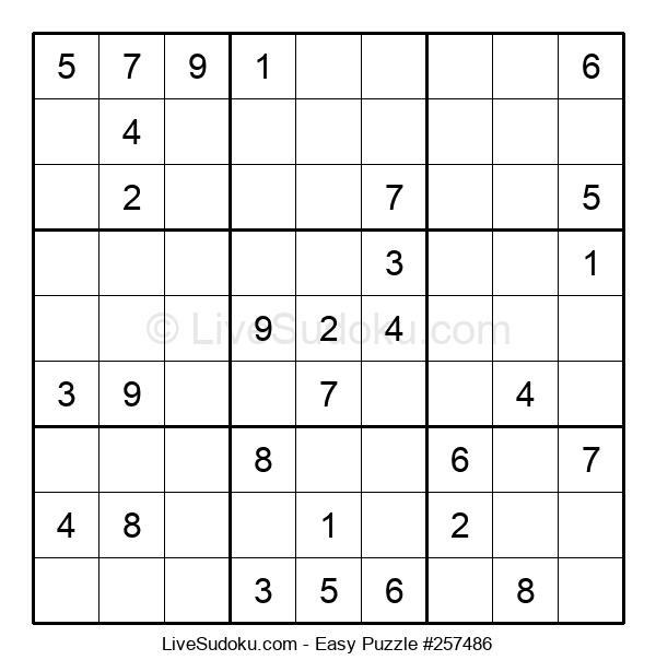 Beginners Puzzle #257486