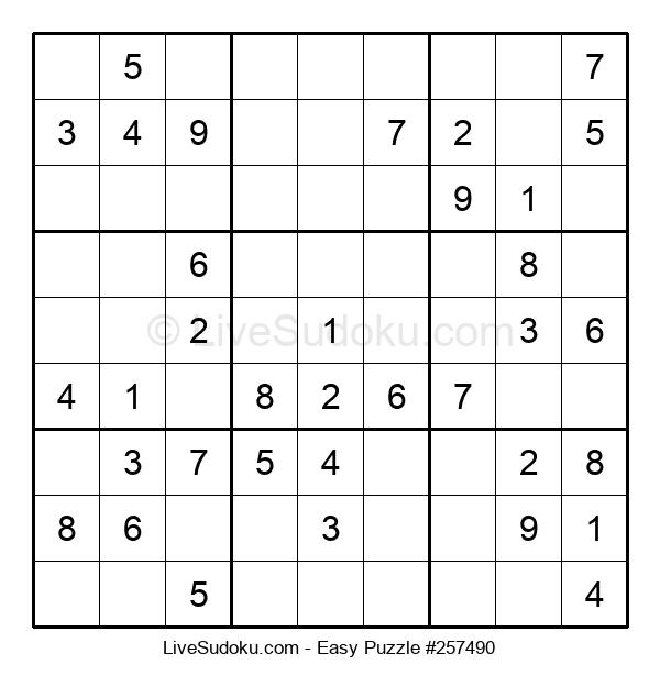 Beginners Puzzle #257490