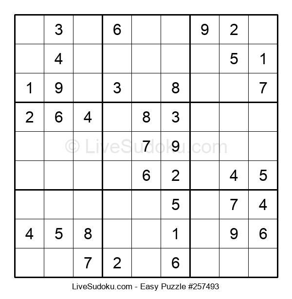 Beginners Puzzle #257493