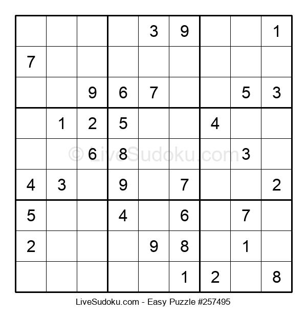 Beginners Puzzle #257495