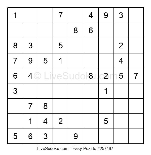 Beginners Puzzle #257497