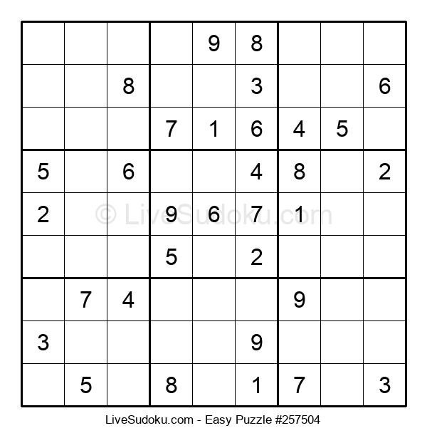 Beginners Puzzle #257504