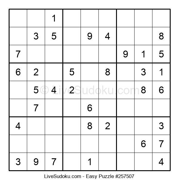Beginners Puzzle #257507