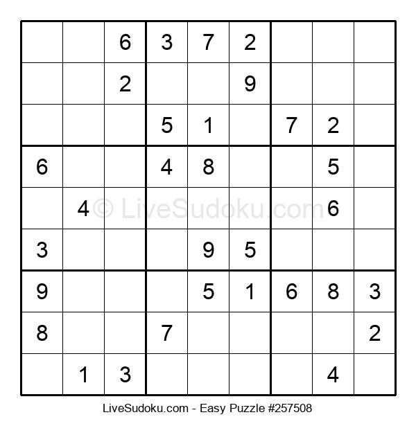 Beginners Puzzle #257508