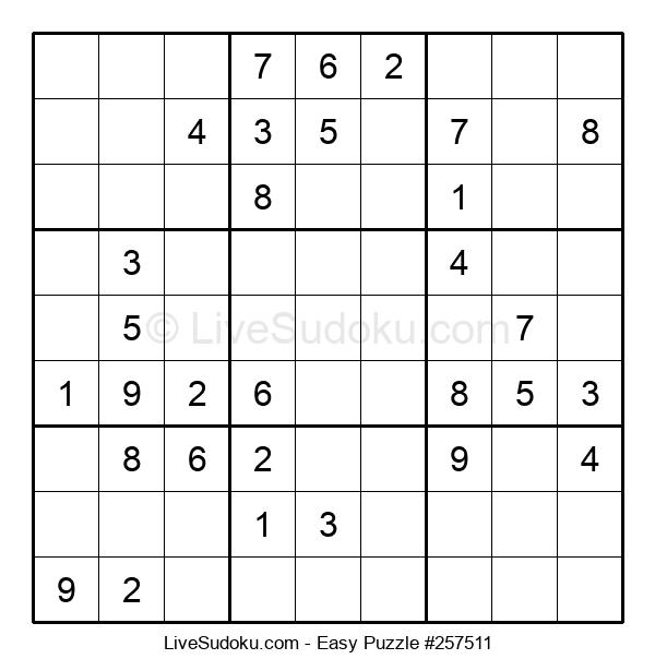 Beginners Puzzle #257511