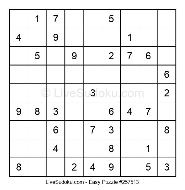 Beginners Puzzle #257513