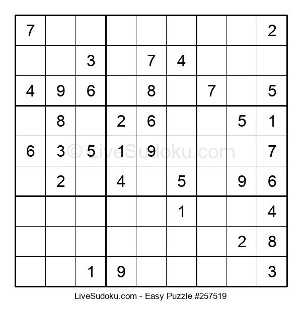 Beginners Puzzle #257519