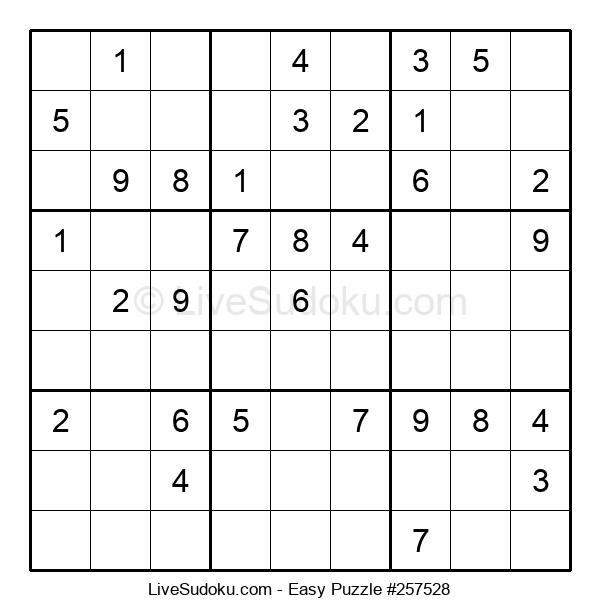 Beginners Puzzle #257528