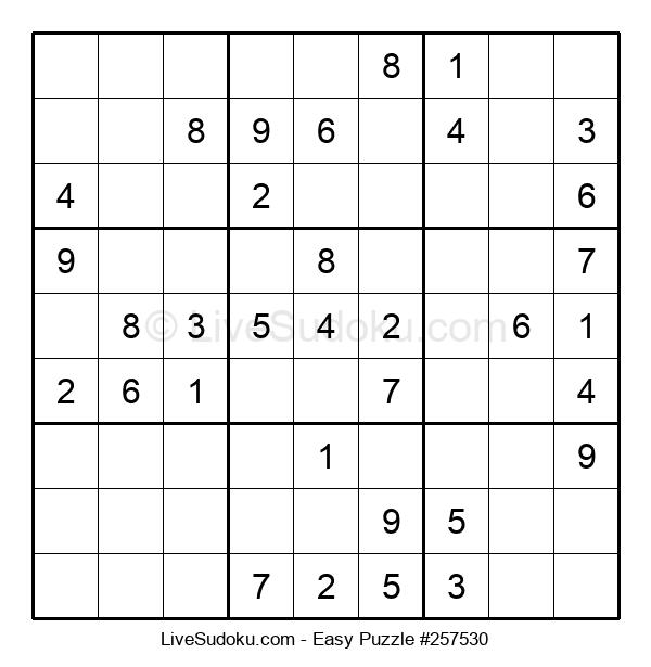 Beginners Puzzle #257530