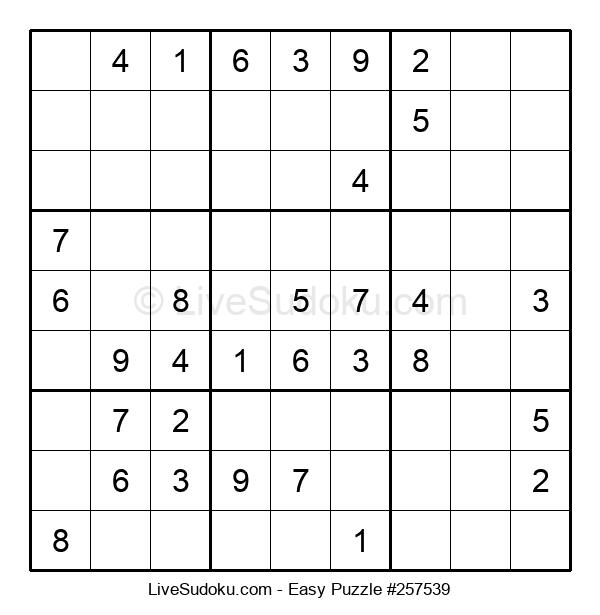 Beginners Puzzle #257539