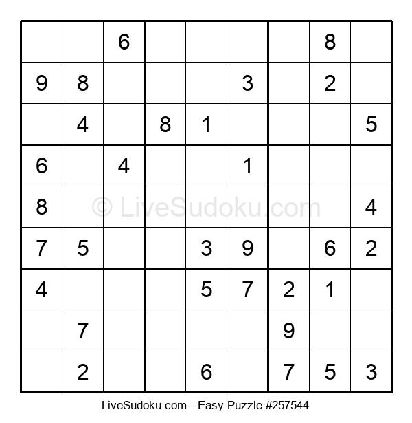 Beginners Puzzle #257544