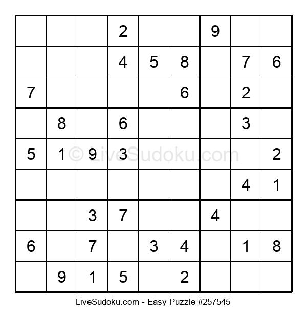Beginners Puzzle #257545