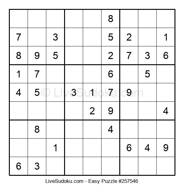 Beginners Puzzle #257546