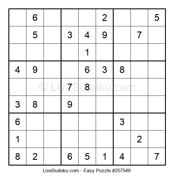 Beginners Puzzle #257549