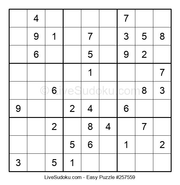 Beginners Puzzle #257559