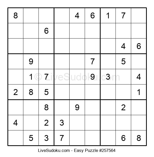 Beginners Puzzle #257564