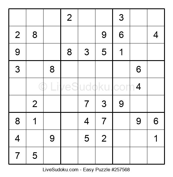 Beginners Puzzle #257568