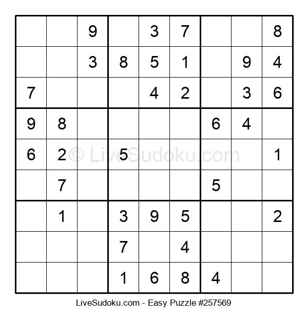 Beginners Puzzle #257569