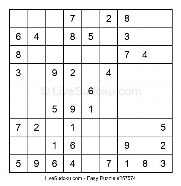 Beginners Puzzle #257574