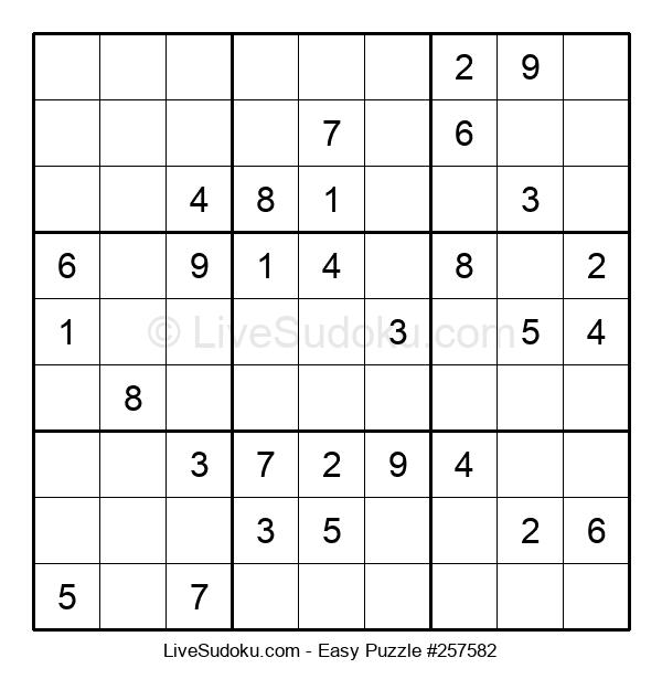 Beginners Puzzle #257582