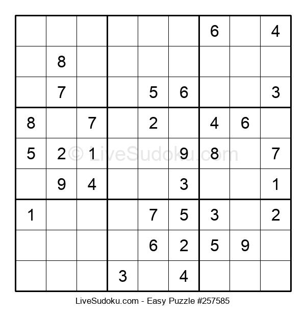 Beginners Puzzle #257585