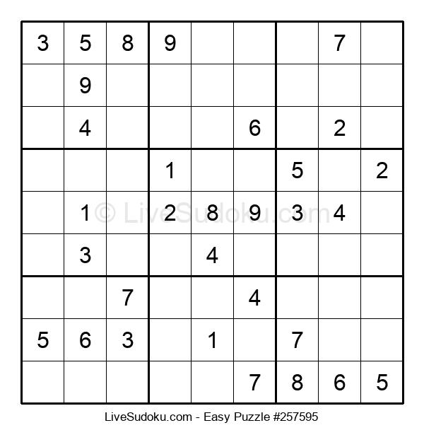 Beginners Puzzle #257595