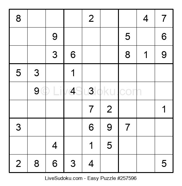 Beginners Puzzle #257596