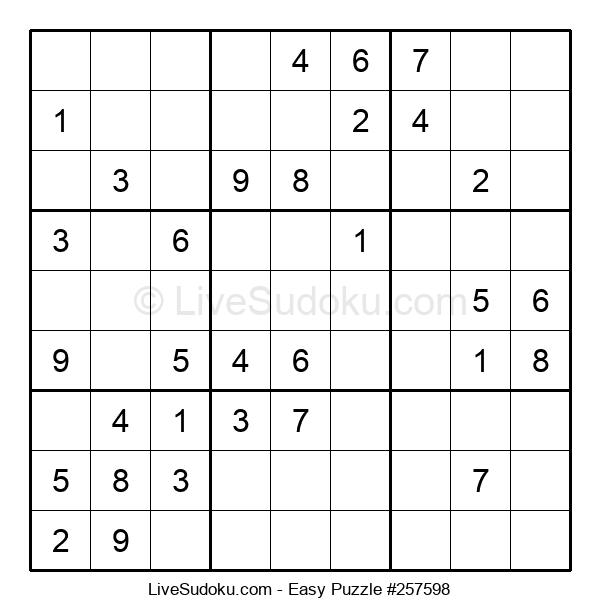 Beginners Puzzle #257598
