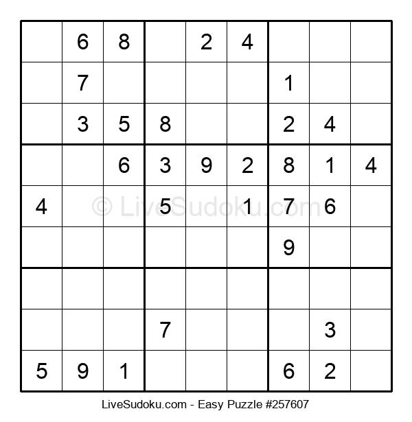 Beginners Puzzle #257607