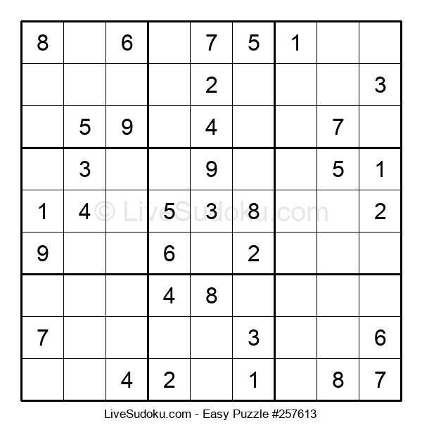 Beginners Puzzle #257613