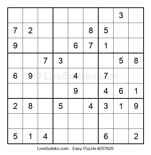 Beginners Puzzle #257629
