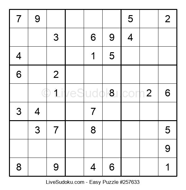 Beginners Puzzle #257633