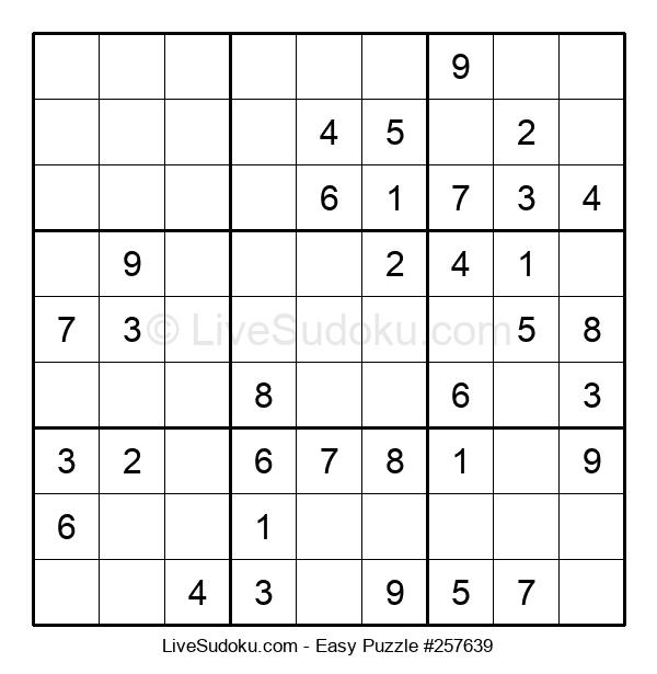 Beginners Puzzle #257639