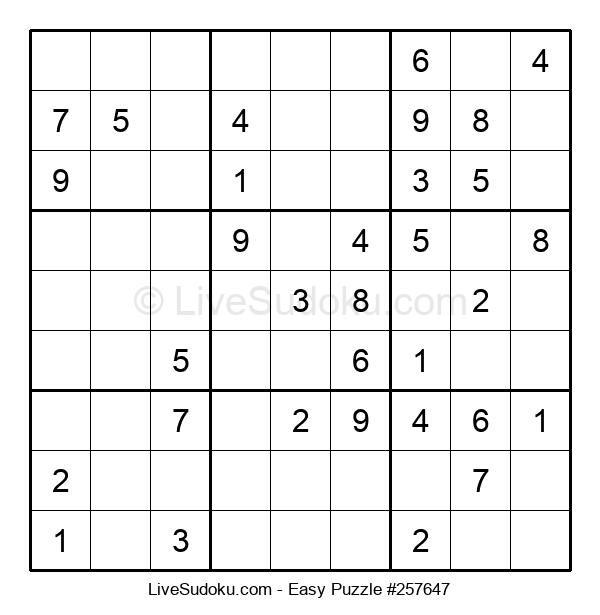 Beginners Puzzle #257647