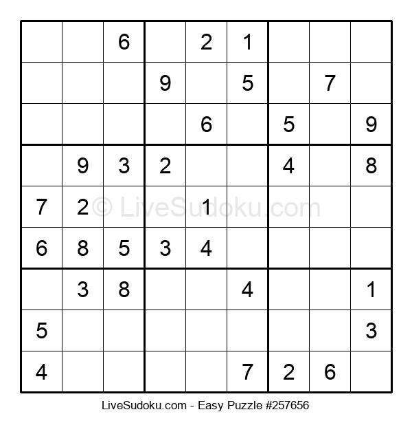 Beginners Puzzle #257656