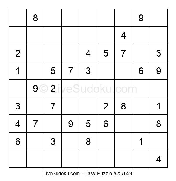 Beginners Puzzle #257659