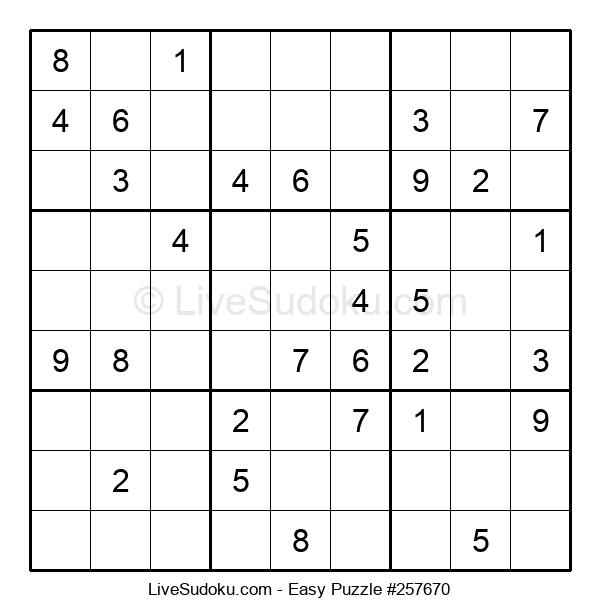 Beginners Puzzle #257670
