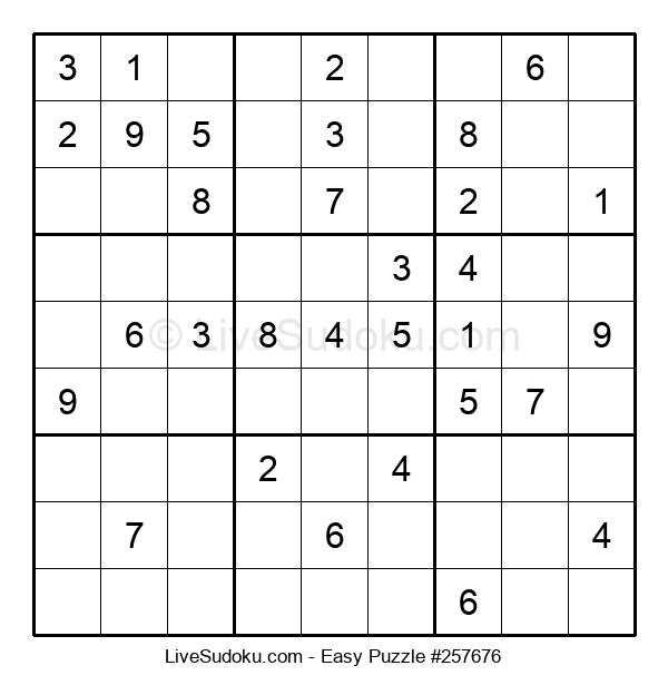 Beginners Puzzle #257676