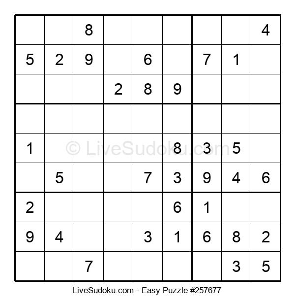Beginners Puzzle #257677