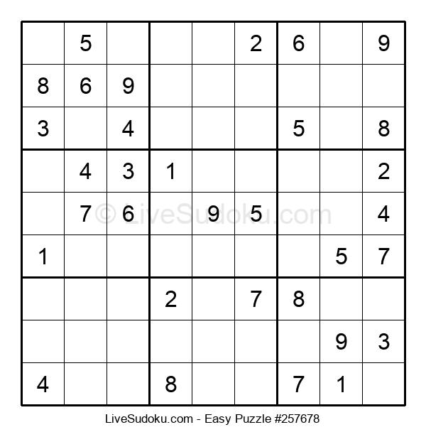 Beginners Puzzle #257678
