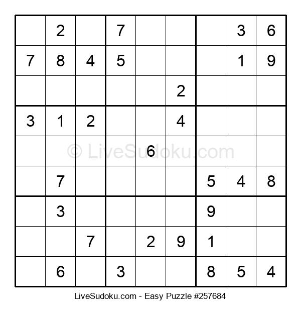 Beginners Puzzle #257684