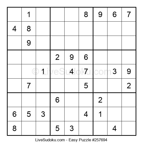 Beginners Puzzle #257694