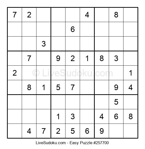 Beginners Puzzle #257700