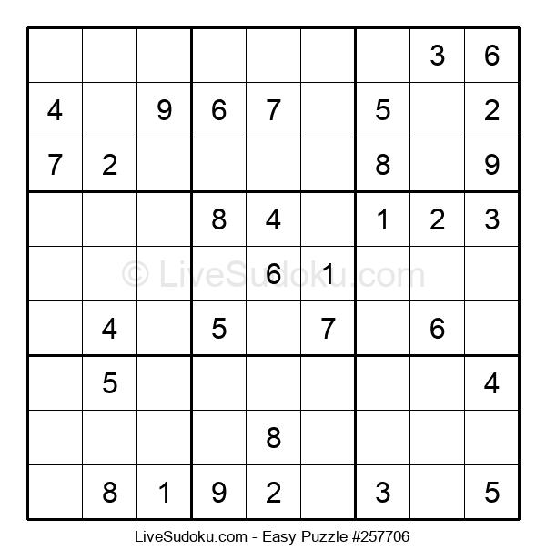 Beginners Puzzle #257706
