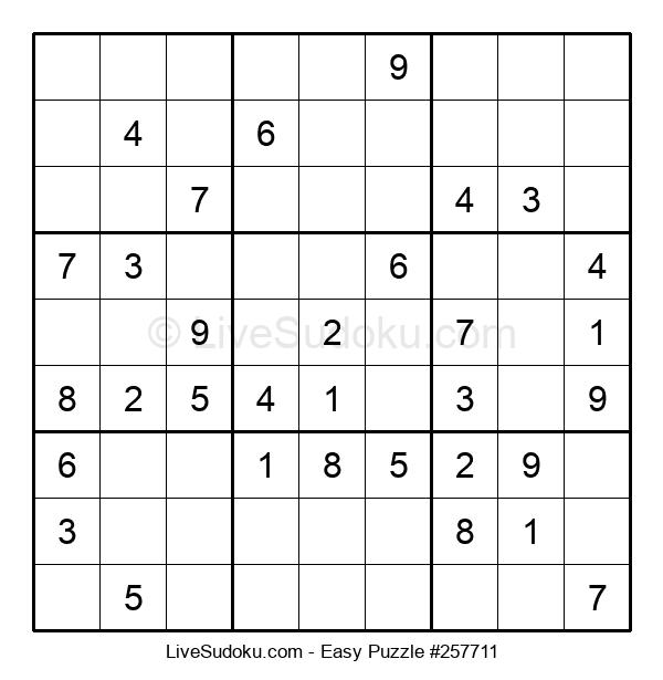 Beginners Puzzle #257711